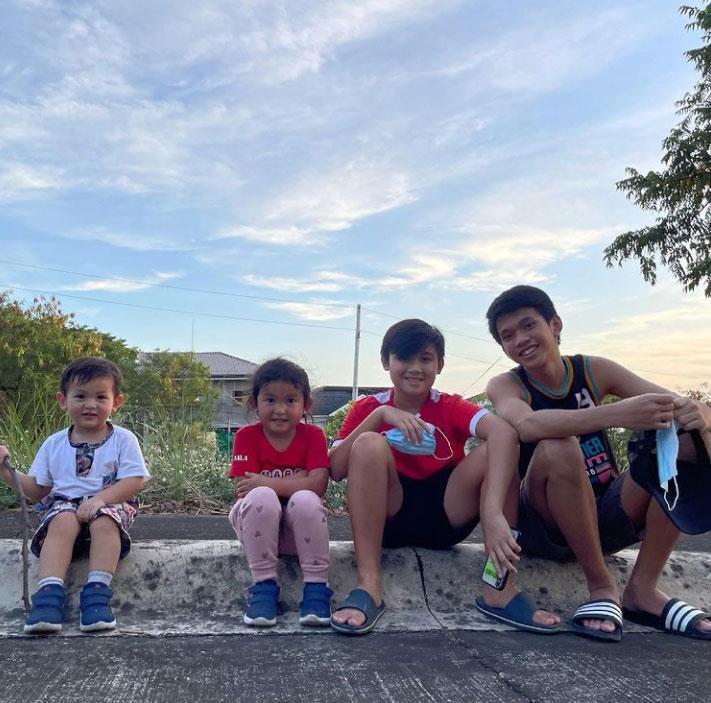 Camille Prats, VJ Yambao kids