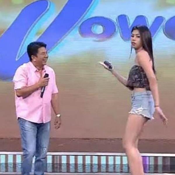 Hipon Girl Herlene Budol as co host in Wowowin