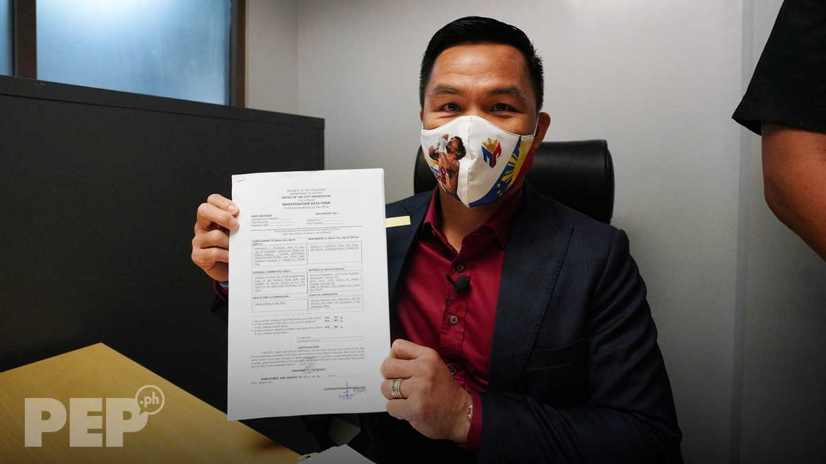 pacquiao sues quiboloy