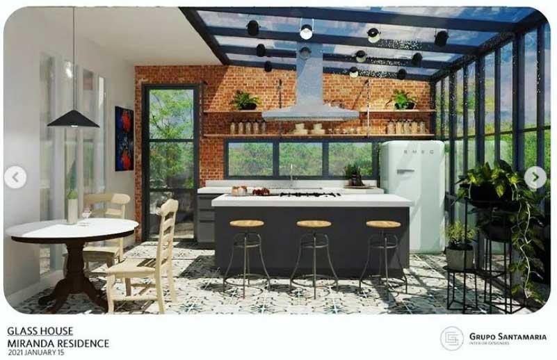 Neri Miranda kitchen