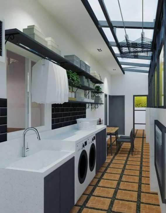 Neri Miranda laundry area