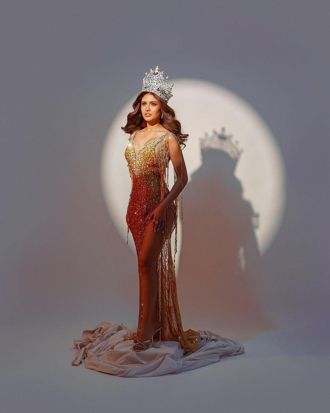 Rabiya Mateo in golden gown by GL Garlate Design