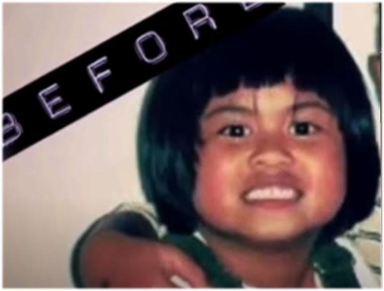 Katrina Dimaranan childhood photo