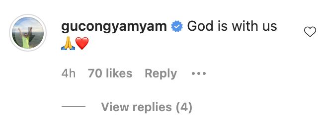Yamyam replies to Andre Brouillette