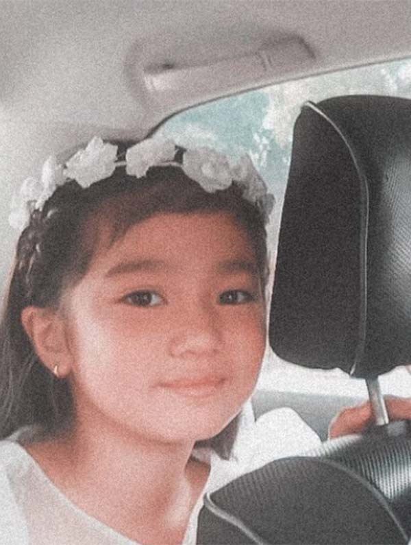 Belle Mariano's childhood photo