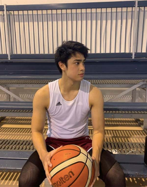 Donny Pangilinan used to play basketball in High School.
