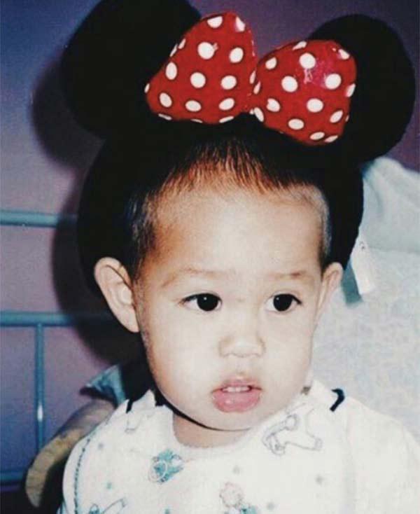 Donny Pangilinan's childhood photo