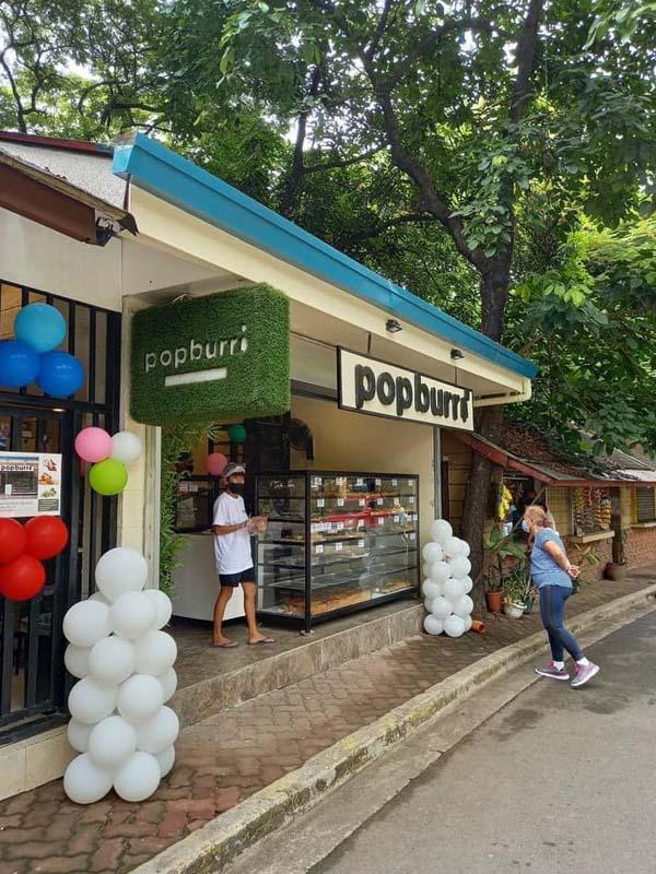 Popburri ice cream shop in QC