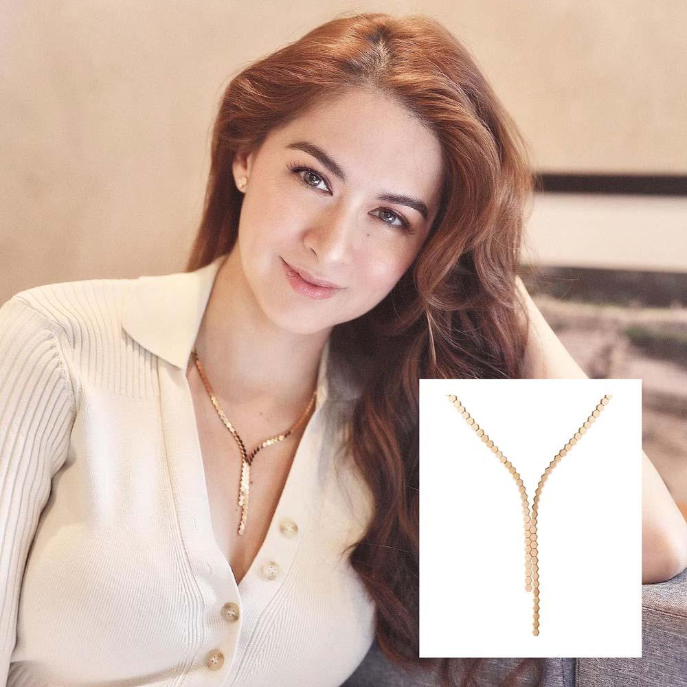 Marian Rivera, Chaumet, Marian Rivera luxury necklace