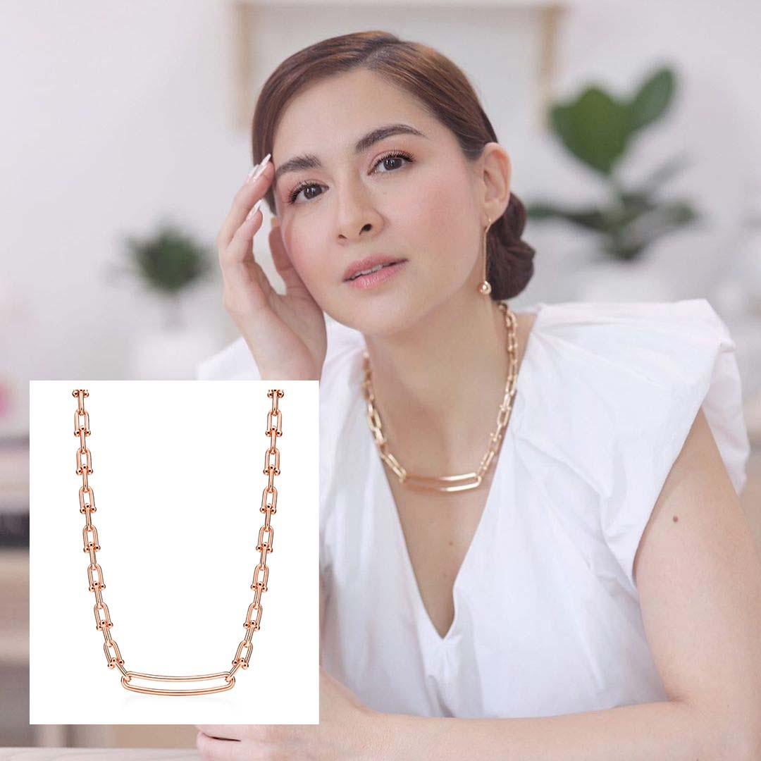 Marian Rivera, Tiffany & Co., Marian Rivera luxury necklace