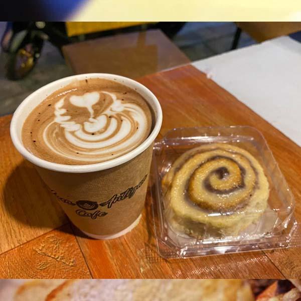 latte art Kasa Antigua Cafe