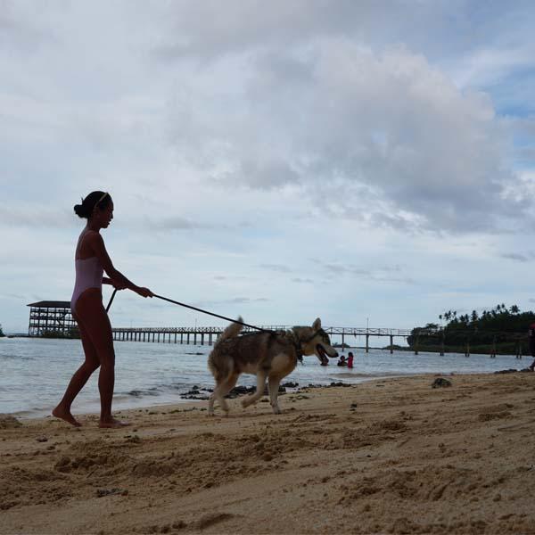 Nougat asong gala beach bum Siargao