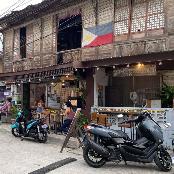 lumang bahay Cavite coffee shop
