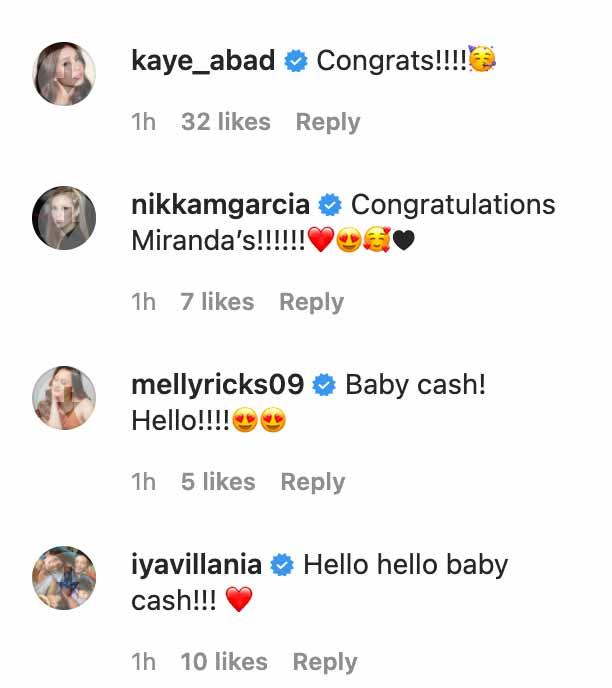 Chito Miranda, Neri Naig gives birth