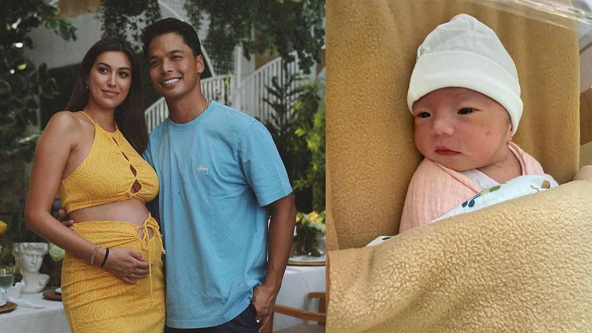 Rachel Peters, Migz Villafuerte, baby girl