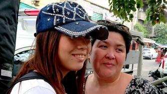 Anak ng '80s sexy star na si Myra Manibog, kabilang sa mga nagpasaya sa mga bata sa Child Haus