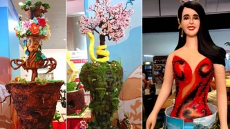 Catriona Gray-inspired at nature-themed cakes, bumida sa Bakery Fair 2019
