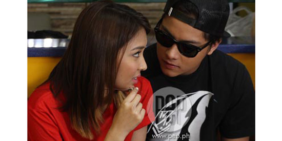 <p>Kathryn and Daniel in a relationship, say sources</p>