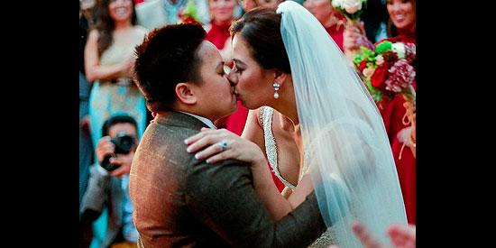 <p>Aiza-Liza wedding has blessing of parents</p>