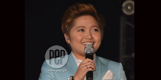 Charice and her grandmom kiss and make up