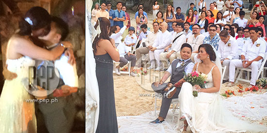 <p>Aiza Seguerra and Liza Di&ntilde;o wed for the second tim