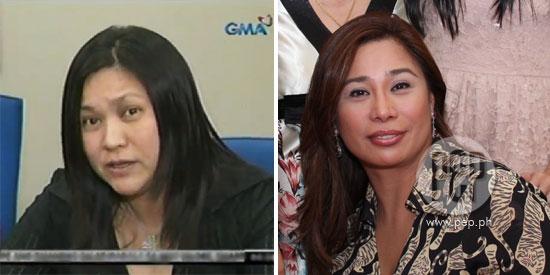 Aleli Arroyo and Grace Ibuna snub each other at Congressman Iggy Arroyo's wake in Negros Occidental