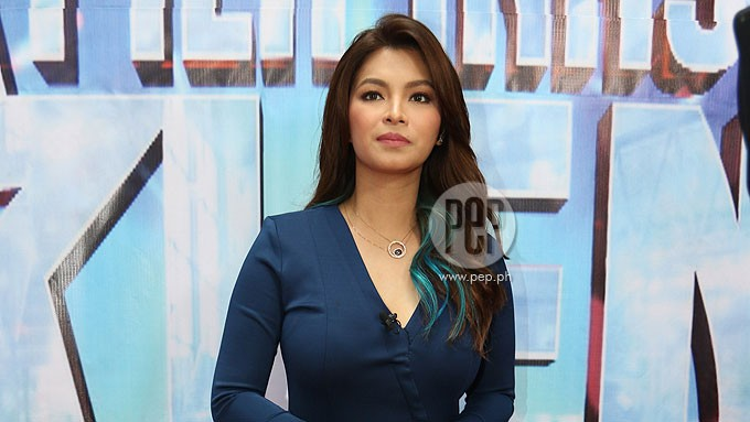Angel neither confirms nor denies if she'll still play Darna