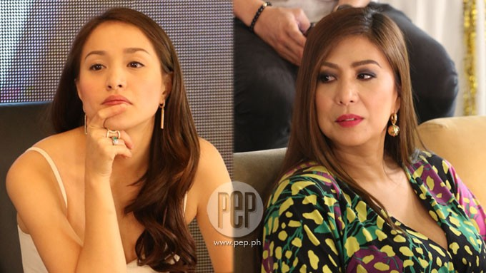 Vivian Velez reacts to Cristine Reyes's liar accusation