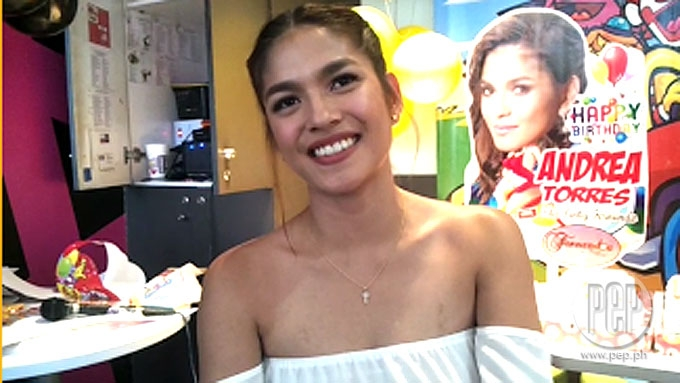 Andrea Torres says Sef Cadayona is just a 'close friend'