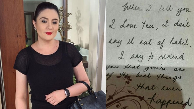 Who is the woman in Sunshine Dizon's Instagram posts?
