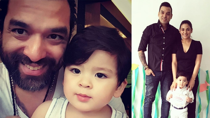 Bernard Palanca says sorry to son with Jerika Ejercito