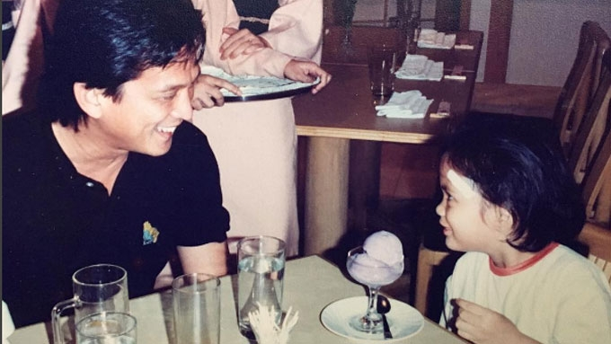Isabelle Daza's dad passes away