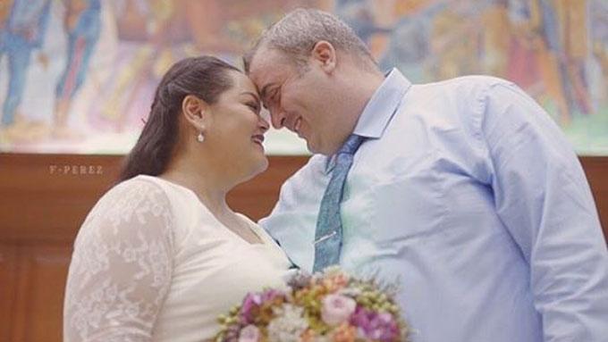 Cai Cortez marries foreigner boyfriend in a civil ceremony