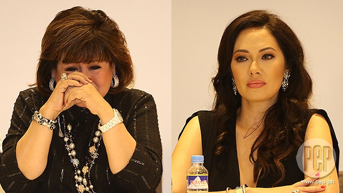 Annabelle painfully recalls Ruffa's brush with death