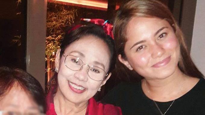 Vilma Santos meets Jessy Mendiola