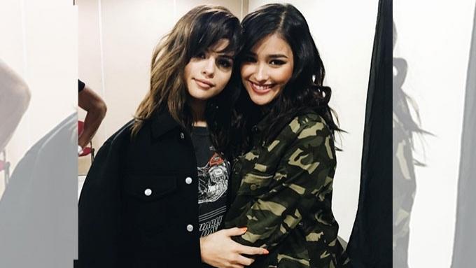 Liza Soberano gets up close with Selena Gomez