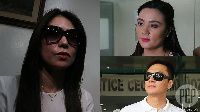 Clarisma Sison faces Sunshine Dizon and Timothy Tan in court
