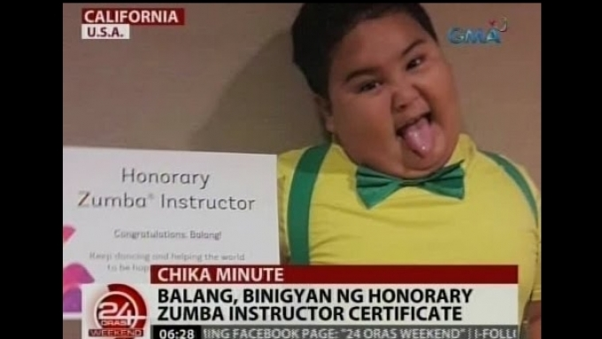 Balang is now a certified Zumba instructor   PEP.ph