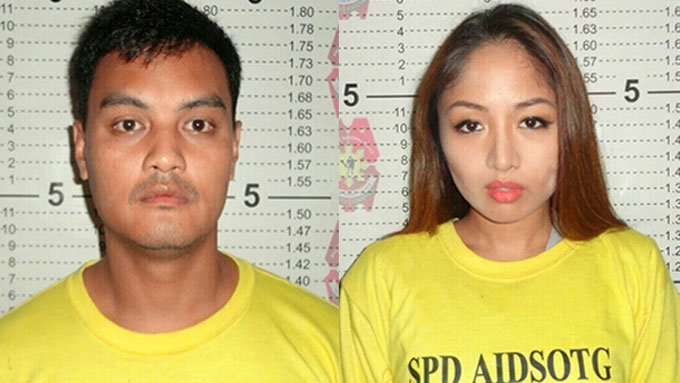 Karen Bordador caught in possession of illegal drugs