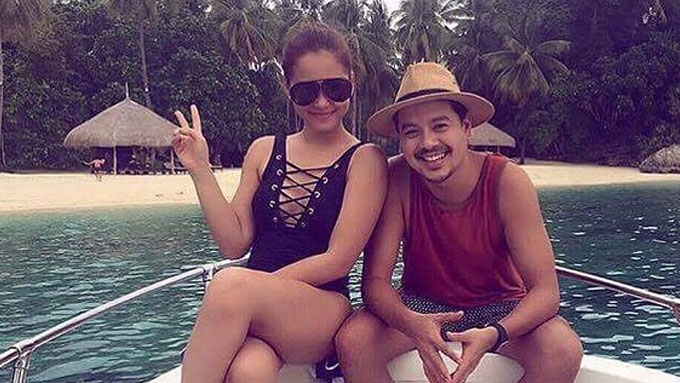 John Lloyd Cruz, Maja Salvador hit the beach in Davao