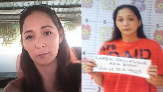 Sabrina M arrested in buy-bust operation