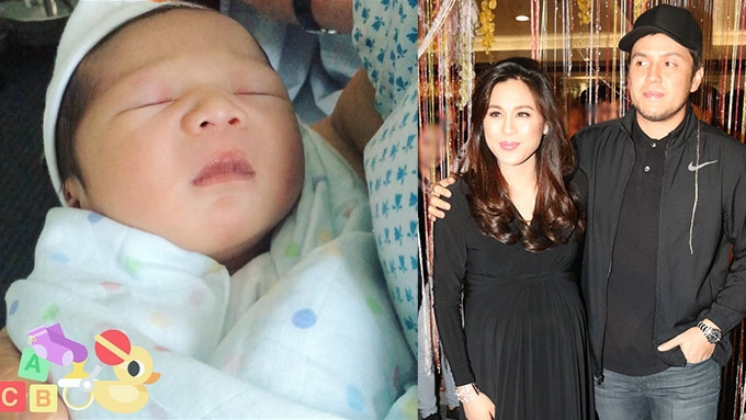 Meet Toni Gonzaga and Paul Soriano's son, Seve
