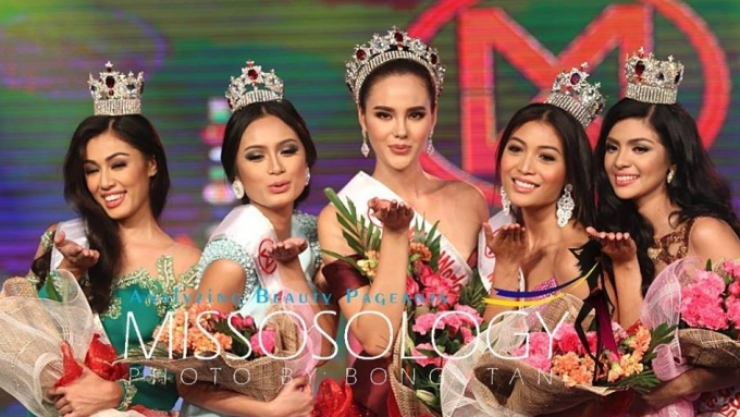 Catriona Gray crowned Miss World Philippines 2016