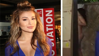 Nathalie Hart says about double breast exposure: I think men would like it.
