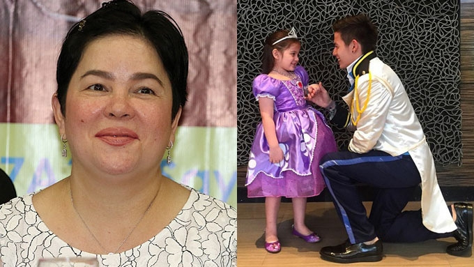 Jaclyn Jose reacts to Jake Ejercito's photo with Ellie