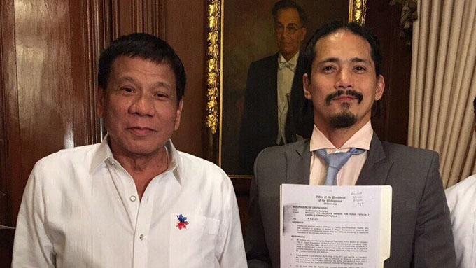 President Duterte grants absolute pardon to Robin Padilla