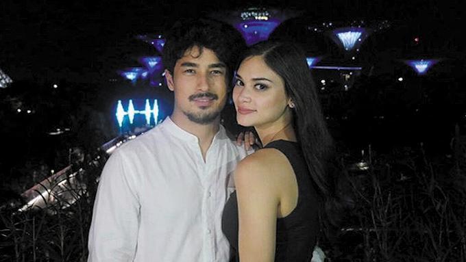 Pia Wurtzbach, Marlon Stockinger go on a date in Singapore