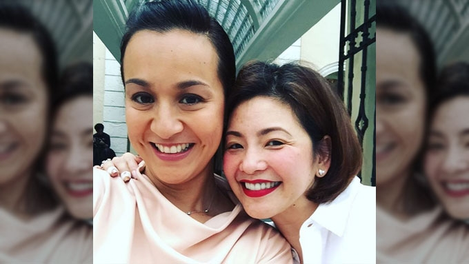 Mikee Cojuangco elated over reunion with Regine Velasquez