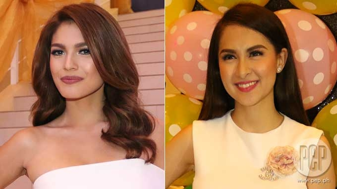 Andrea Torres denies friction with Marian Rivera