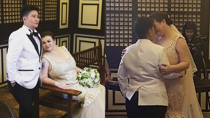Rosanna Roces marries lesbian partner for the second time